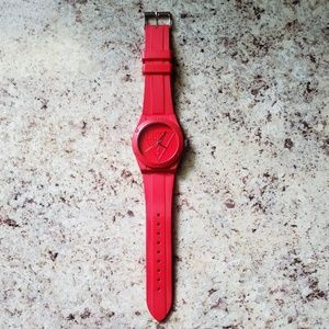 Guess Watch Retro Style Red